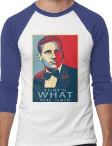 michael scott Men's Baseball ¾ T-Shirt