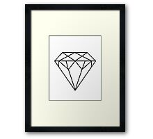 Diamond Printable Affiche Scandinave Scandinavian Geometric Decor Wall Art Geometric Print Home Decor Printable Poster Framed Print