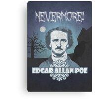 Edgar Allan Poe's Nevermore! Canvas Print