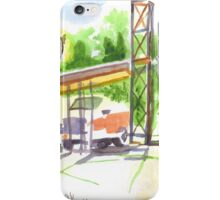 Gaslight at the Truck Stop iPhone Case/Skin