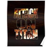 Attack On Titan - Shingeki no kyojin - Poster