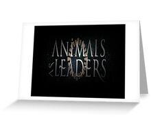 naruto music animals as leaders Greeting Card