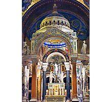 Cathedral Basilica of Saint Louis Interior Study 9  Photographic Print