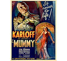 Vintage poster - The Mummy Photographic Print