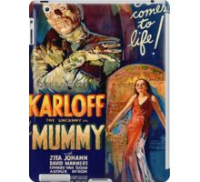 Vintage poster - The Mummy iPad Case/Skin