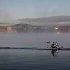 Spring Sun Rise at Lake Burley Griffin (Canberra/ACT/Australia) (7) by Wolf Sverak
