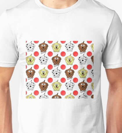 Puppies and Balls Unisex T-Shirt