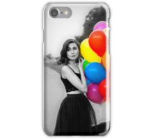 dodie clark rainbow balloons  iPhone Case/Skin