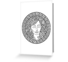 GREEK GODDESS Greeting Card