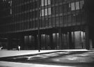 Seagram Plaza (b&w) by John Schneider