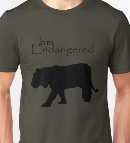 I am Endangered Unisex T-Shirt