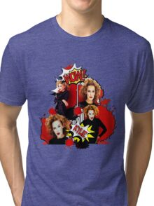 Kylie Minogue - Confide In Me - Comic Book Red Tri-blend T-Shirt