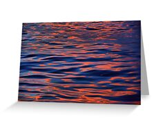 Fire in the Water Greeting Card
