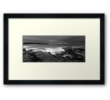 Long Bay Exposed Framed Print