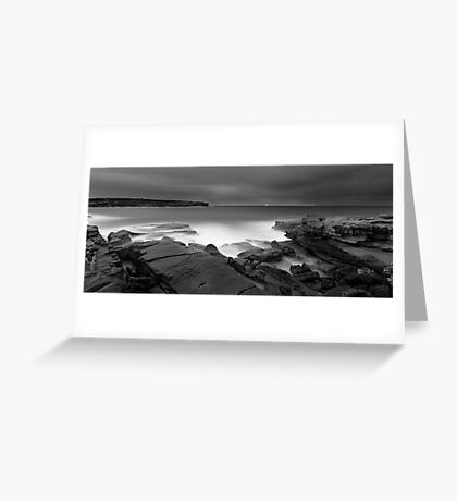 Long Bay Exposed Greeting Card