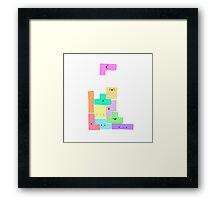 Tetris! Framed Print