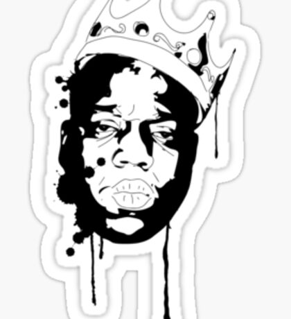 Notorious BIG Sticker