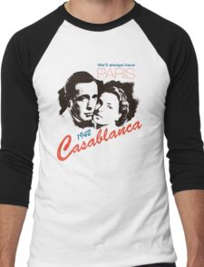 Casablanca Men's Baseball ¾ T-Shirt