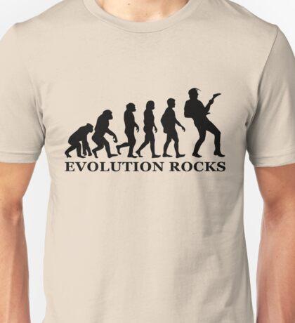 evolution rocks Unisex T-Shirt
