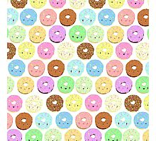 Dozens of Donuts Photographic Print