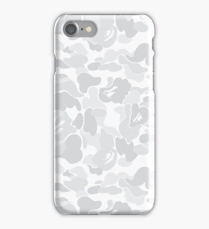 BAPE White Camo iPhone Case/Skin
