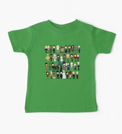 Doctor Who all together now Baby Tee