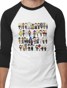 Doctor Who all together now Men's Baseball ¾ T-Shirt