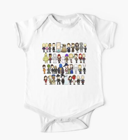 Doctor Who all together now One Piece - Short Sleeve