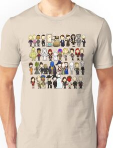 Doctor Who all together now Unisex T-Shirt