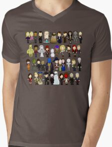 Doctor Who all together now Mens V-Neck T-Shirt