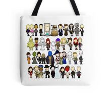 Doctor Who all together now Tote Bag