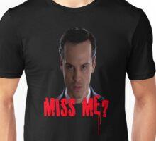 Sherlock ~ Moriarty: Miss Me? Unisex T-Shirt