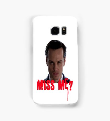 Sherlock ~ Moriarty: Miss Me? Samsung Galaxy Case/Skin