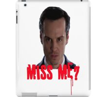 Sherlock ~ Moriarty: Miss Me? iPad Case/Skin