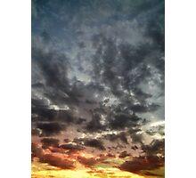 Sky Moods, Spectrum Photographic Print