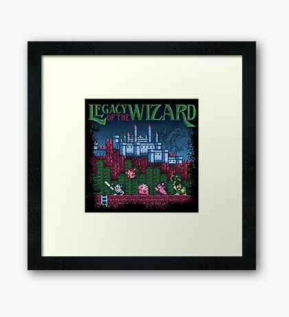 Wizard of the Legacy Framed Print