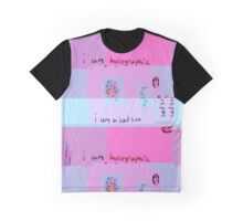 I Am Holographic Graphic T-Shirt