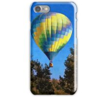 Hot Air Balloons Rising Above iPhone Case/Skin