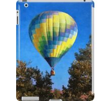 Hot Air Balloons Rising Above iPad Case/Skin