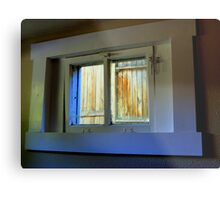 Through The Basement Window Metal Print