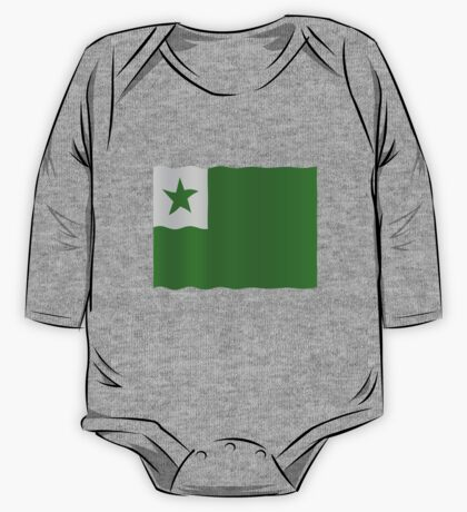 Esperanto flag One Piece - Long Sleeve