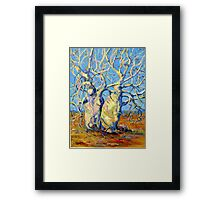 Kimberley Giants, Boab Trees Framed Print