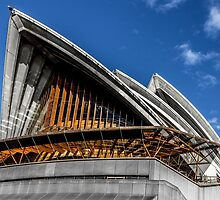 The Colours of the Sydney Opera House 2 by j-w-smith