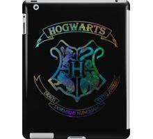 Hogwarts Crest Nebula iPad Case/Skin