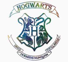 Hogwarts Crest Nebula Kids Clothes