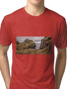 Dunseverick Castle Tri-blend T-Shirt