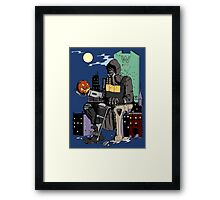 Scarecrow's Long Halloween - Batman: Arkham Knight Framed Print