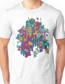 the color city Unisex T-Shirt