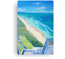 From Surfers Paradise the Gold Coast Queensland from High Surf Canvas Print