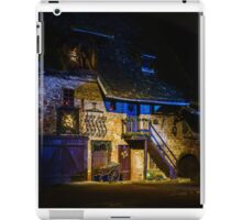 Wonderful Christmas highlighting in Colmar, Alsace, France. Street and houses decoration iPad Case/Skin